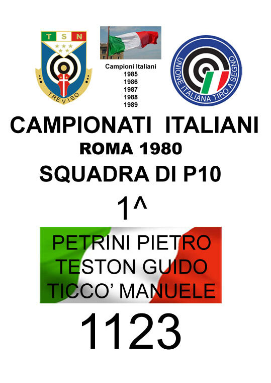 1980 Lo squadrone P10  Guido Manuele Pietro