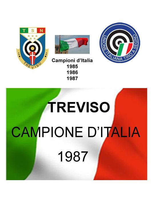 1987 Terzo Scudetto