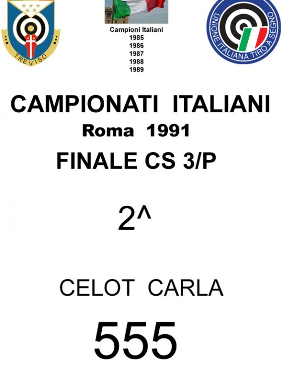 1991 Celot Carla CS3P