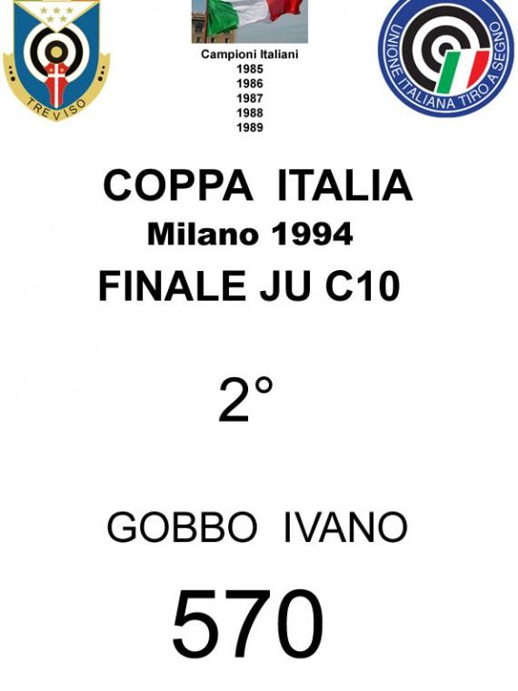 1994 Gobbo Ivano  C10