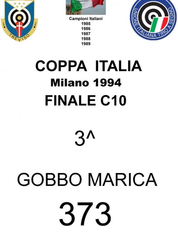 1994 Gobbo Marica Coppa Italia C10