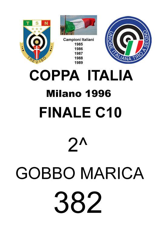 1996 Gobbo Marica Coppa Italia