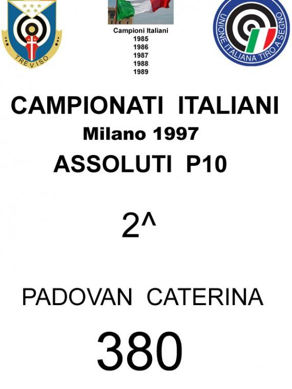 1997 Padovan Caterina P10