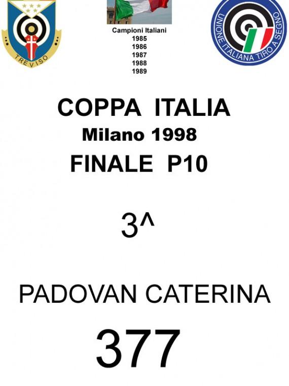 1998 Padovan  Catarina  P10
