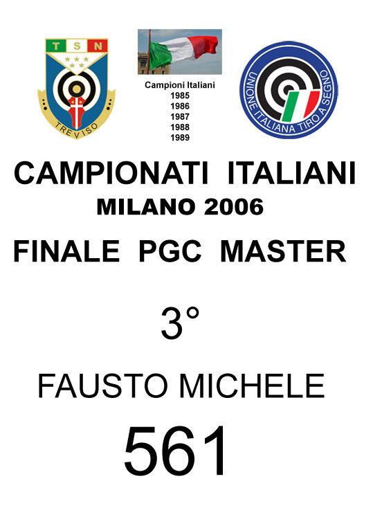 2006 Fausto Michele  PGC
