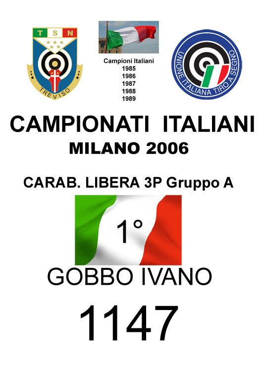 2006 Gobbo Ivano  CL3P