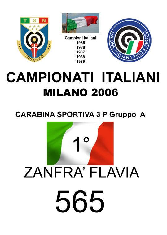2006 Zanfrà Flavia CS3P