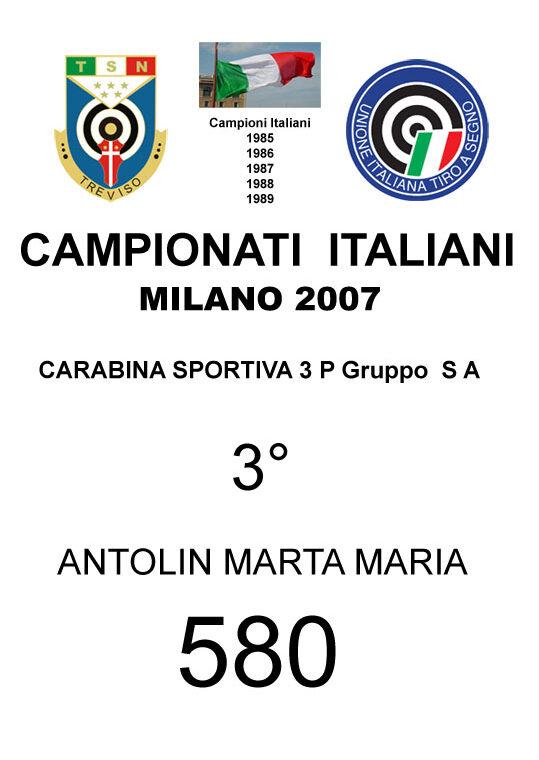 2007 Antolin Marta Maria CS3P