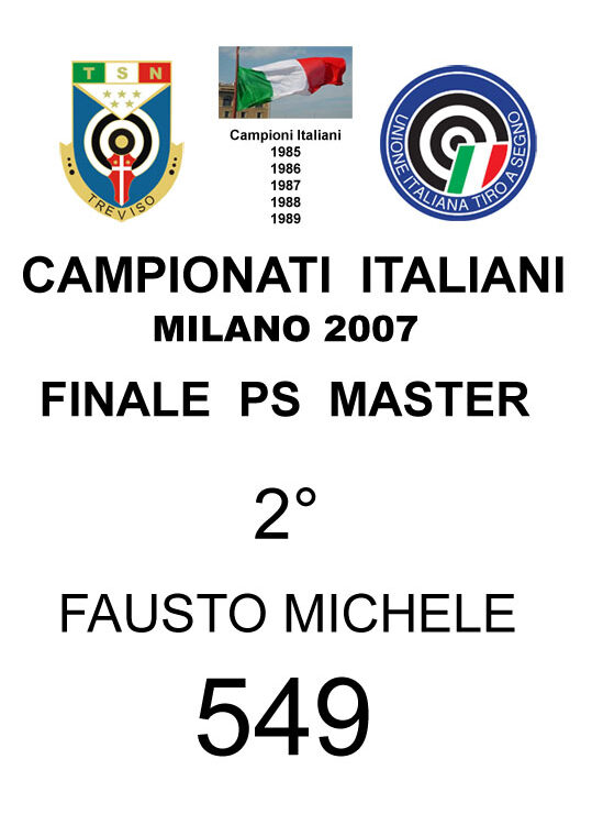 2007 Fausto  Michele  PS