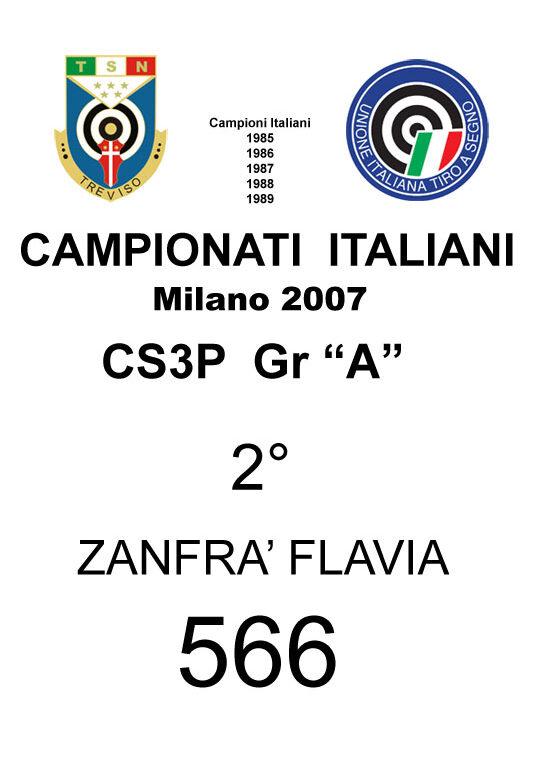 2007 Zanfra Flavia CS3P