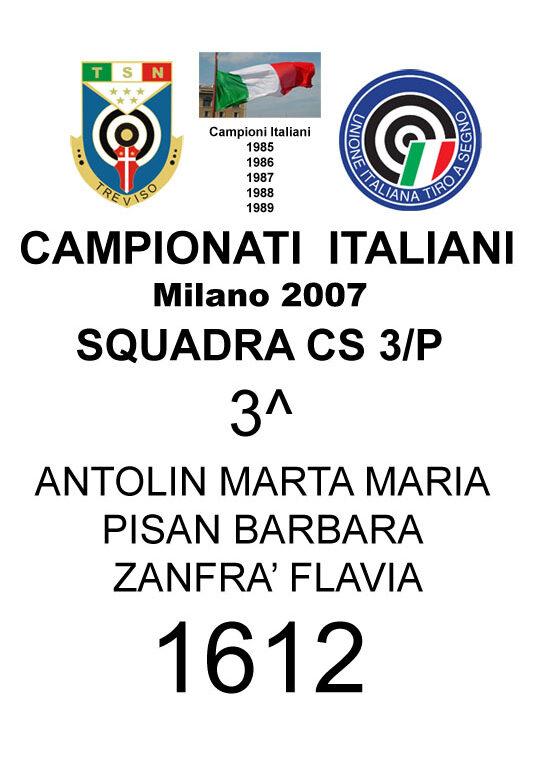 2007Squadra cs3p Barbara Flavia MartaMaria