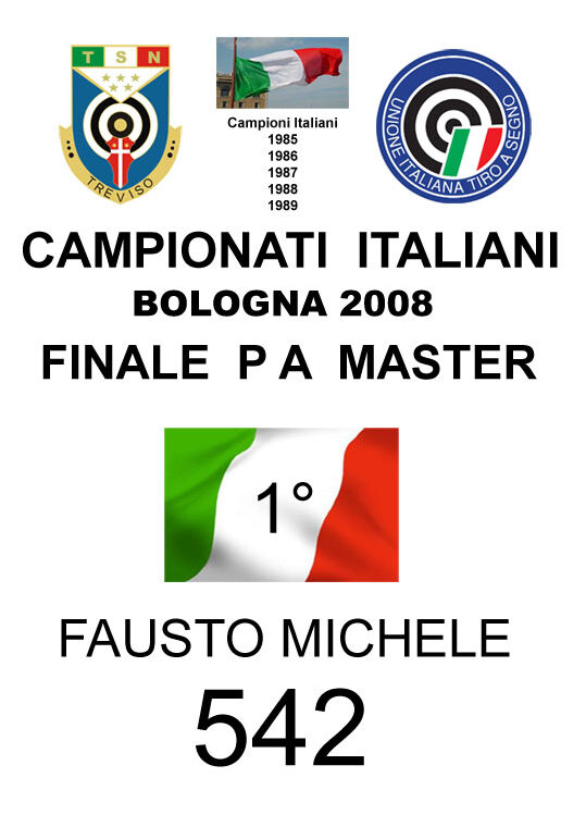2008 Fausto Michele PA