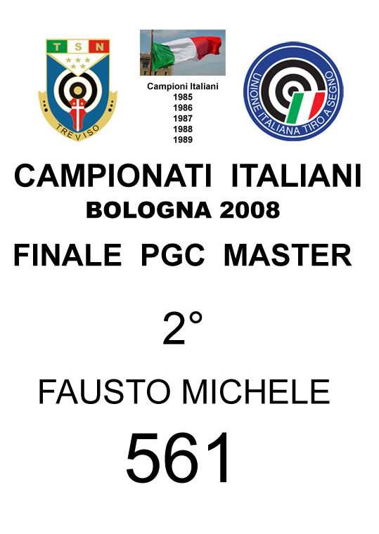 2008 Fausto  Michele PGC