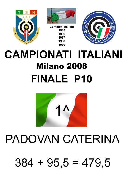 2008 Padovan Caterina P10