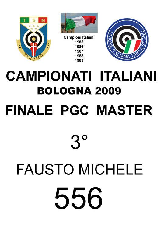 2009 Fausto Michele PGC