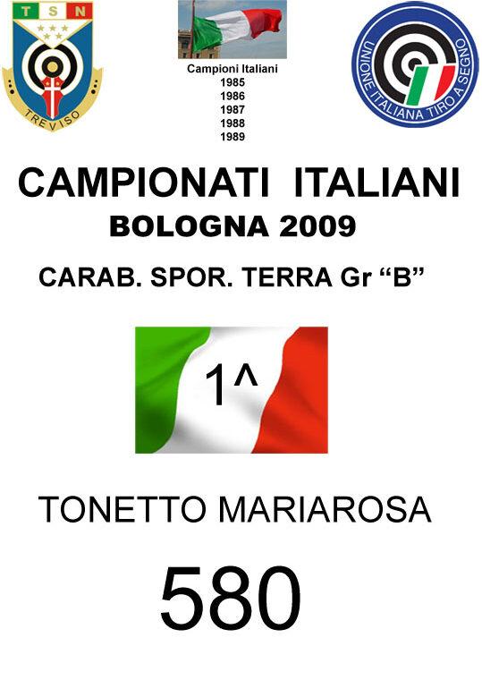 2009 Tonetto Mariarosa  CST
