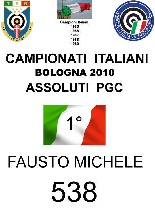 2010 Fausto Michele PGC
