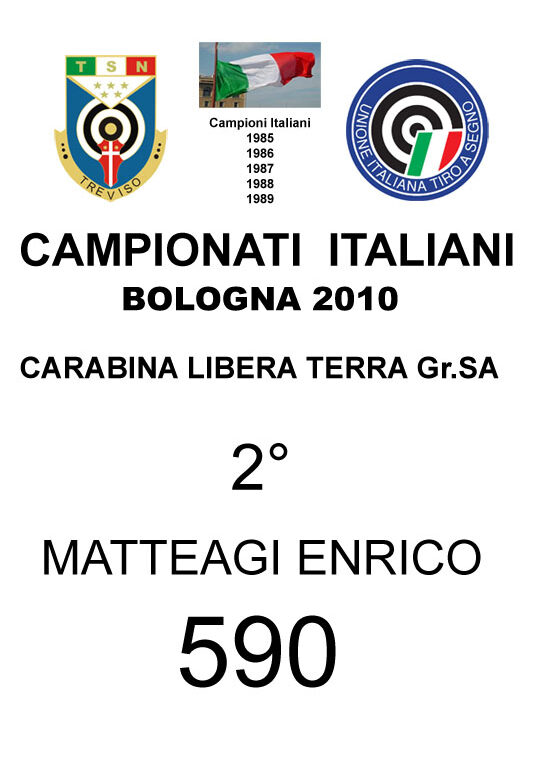 2010 Matteagi Enrico CLT