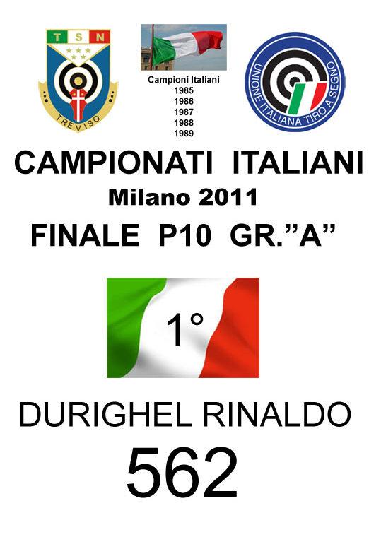 2011 Durighel Rinaldo P10