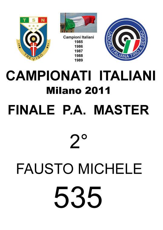 2011 Fausto Michele PA