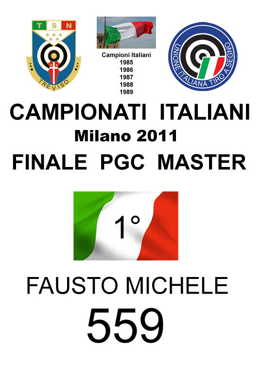 2011 Fausto Michele PGC