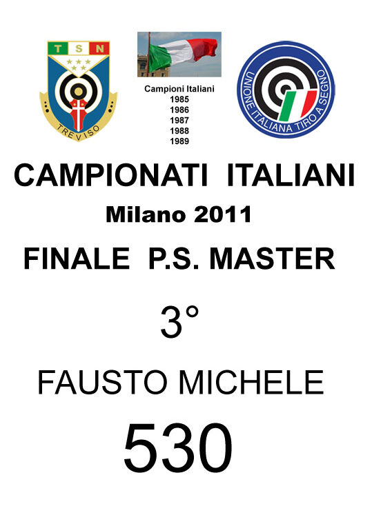 2011 Fausto Michele  PS