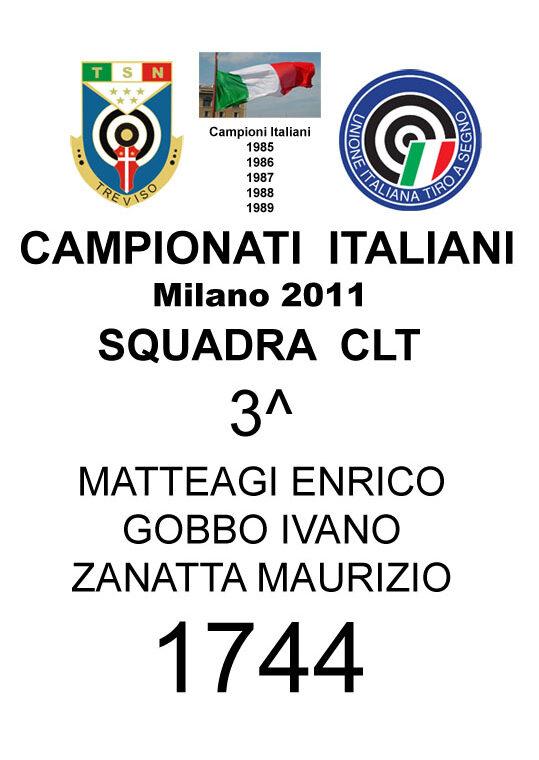 2011 Squadra CLT Enrico Ivano Maurizio