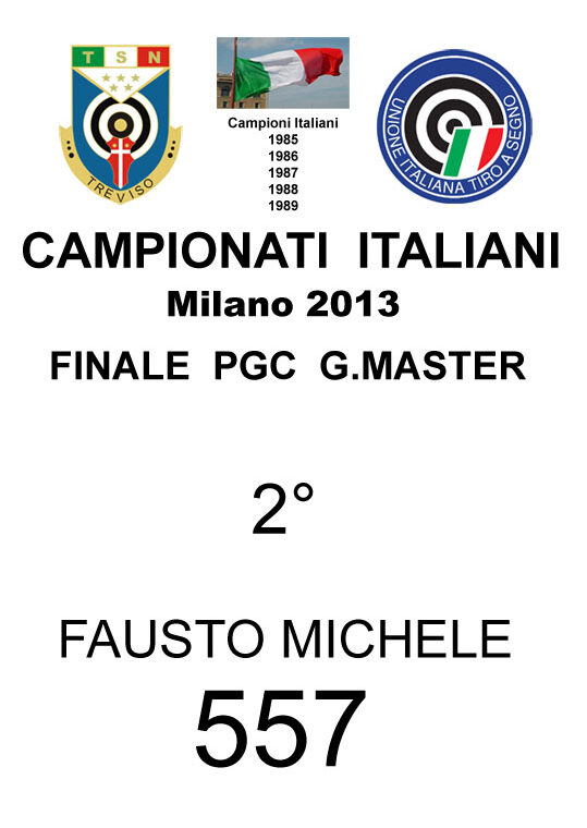 2013 Fausto Michele PGC