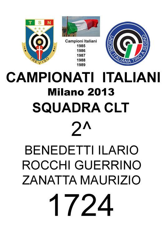 2013 Squadra CLT Guerrino Ilario Maurizio