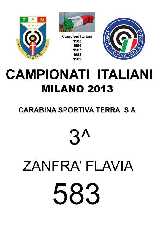 2013 Zanfrà Flavia CST