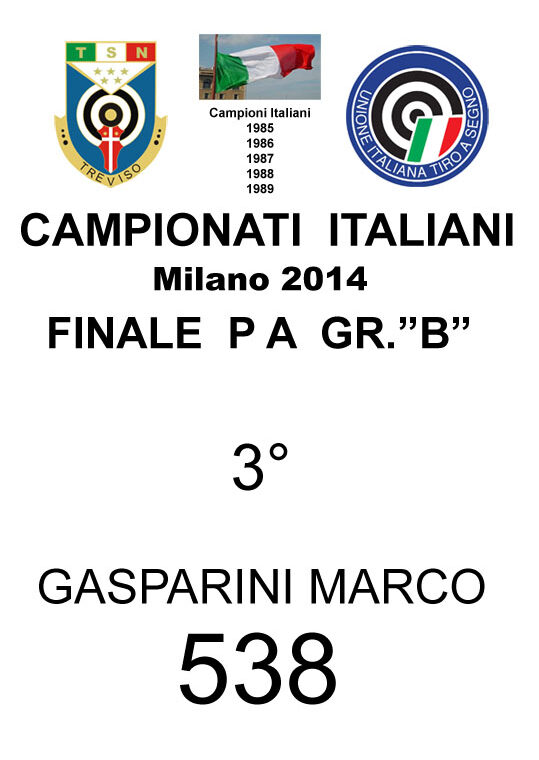 2014 Gasparini Marco PA