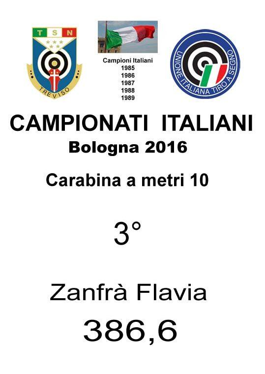 85_ 3  Zanfrà Flavia C10 2016