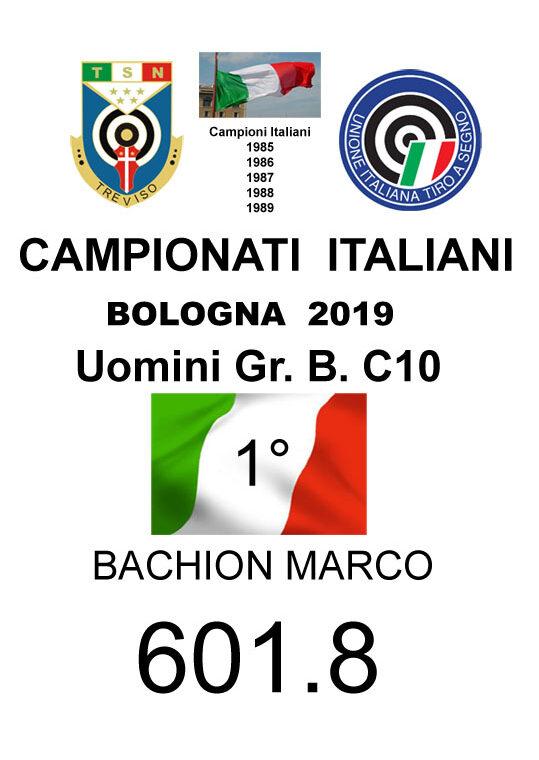 113 C10 Bacchion Marco 1 2019